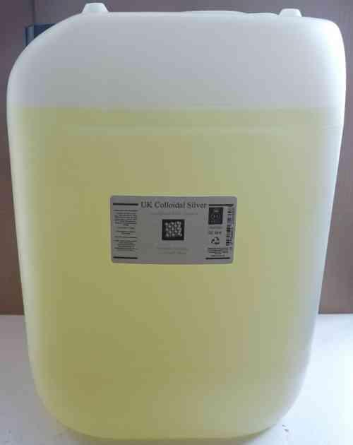 20L HDPE - Multi-purpose Amber Colloidal Silver 14,000ug/l