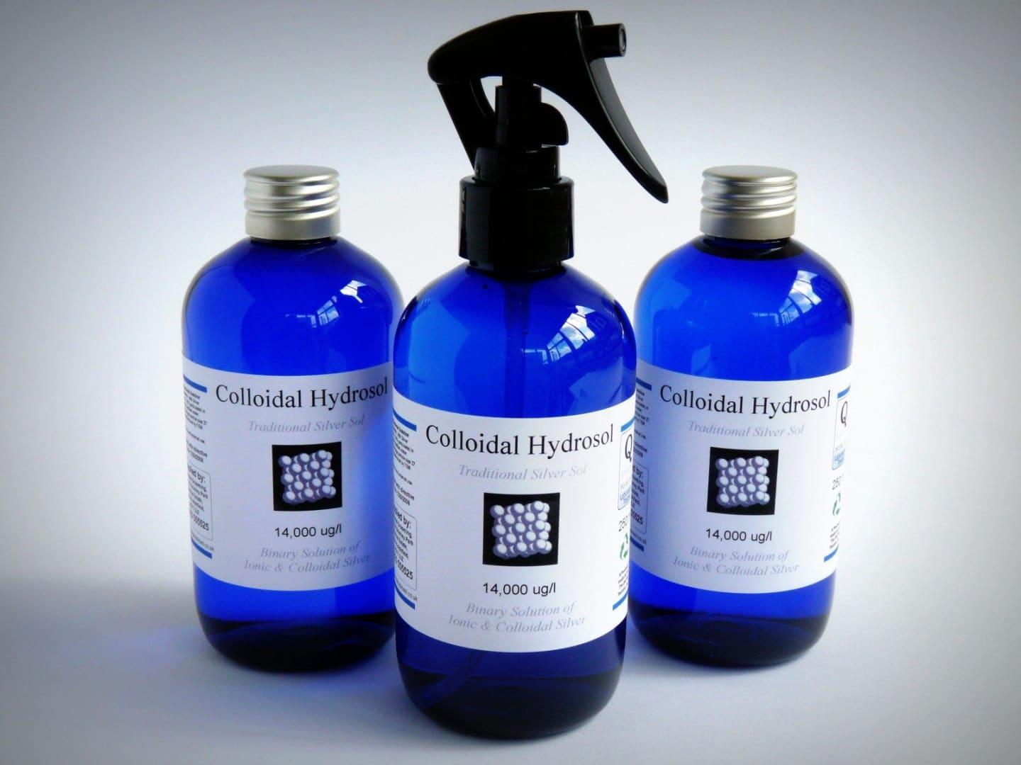 12 x 250ml Active Silver Hydrosol Spray