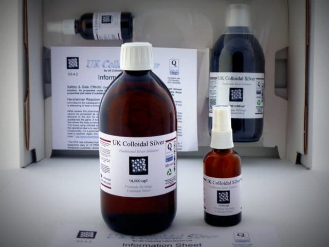 UK Colloidal Silver Basic Kit